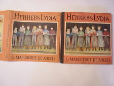 Henner's Lydia, Marguerite De Angeli, DJ, 1937, Signed by the Author