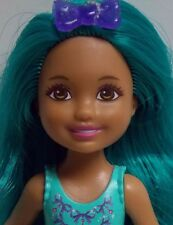 BARBIE DREAMTOPIA RAINBOW COVE CHELSEA DOLL TEAL LOOSE - EXCELLENT!