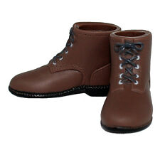 Infirmary Exclusives WWII US Dark Brown Short Boots Female 1:6 (g40)