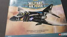 "Corgi Aviation Archive 1/72 scale McDonnell F-4J Phantom VX-4 US Navy ""Black Bun"