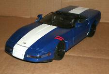 1/18 Scale 1996 Chevy Corvette Grand Sport LT4 Diecast Model - Maisto 31830 Blue