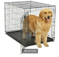 Midwest homes for pets Contour Large Folding Dog Crate