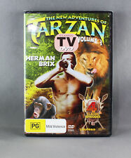 THE NEW ADVENTURES OF TARZAN (VOL 3 - 4 CLASSIC EPISODES DVD 2001) HERMAN BRIX