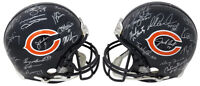 1985 Chicago Bears Team Signed Bears Riddell Auth Helmet (28 Sigs) SCHWARTZ COA