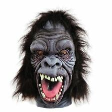 Wild Angry Gorilla Animal halloween Mask