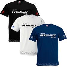 Nuevo Para Hombre BMW R1250 GS Homenaje T-Shirt Tallas Pequeño a 3XL Elección De Colores