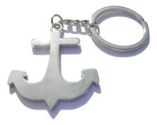 Anchor Keyring Chrome Metal Boat Anchor Keychain Gift Boxed BRAND NEW