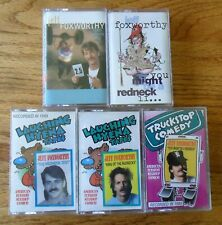 Jeff Foxworthy Comedy Tapes 5 Redneck Test King of Games Play You Might Be A