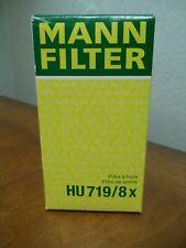 Genuine Mann HU719/8X Oil Filters for Volvo C30 C70 S40 V50