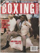 BOXING ILLUSTRATED MAGAZINE EVANDER HOLYFIELD BOXING HOFer NOVEMBER 1991