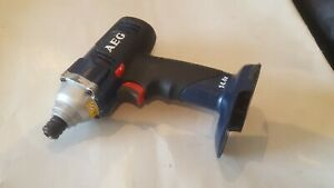 "AEG BSS 14  Impact Driver 14.4V 1/4"" Hex Made In Germany. Bare unit only."