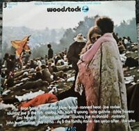 Various / Woodstock TRIFOLD sleeve UK 1971 VERY GOOD+ 3X LPS VINYL