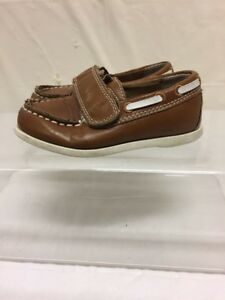 Carter's Toddler Brown Leather Shoes Sz 7
