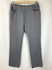 Icebreaker Women's Gray Merino Wool Dress Pants Size 33