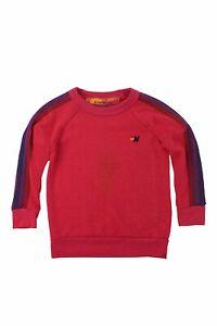 Aviator Nation Big Kids Classic Crew Sweatshirt in Rose // Purple 14