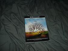Big Fish 4K Ultra Hd + Blu-Ray 2021 Tim Burton Ewan McGregor 2003 With Slipcover