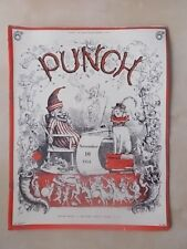 VINTAGE PUNCH MAGAZINE NOVEMBER 10th 1954 HUMOUR - CARTOONS - ADVERTS FREE POST