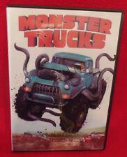 MONSTER TRUCKS, DVD, SINGLE DISC W/CASE & COVER ARTWORK
