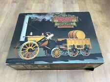 More details for hornby stephensons rocket - real steam train set g100 - boxed