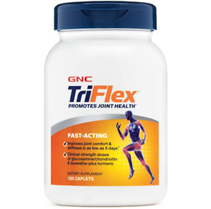 GNC TriFlex Fast-Acting 120 Caplets Joint Support Supplement