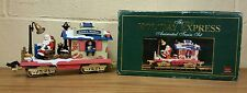New Bright Holiday Ex 00006000 press Train *Santa's Mailbox* Animated Rail Car - 380-1