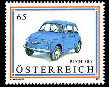 austria 2011 autriche Puch 500  cars motoring Autos Fahrzeuge Coches 1v mnh **