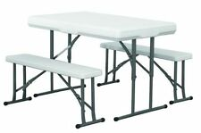 Unbranded Rectangle Up to 4 Seats Garden & Patio Tables