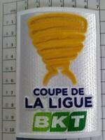 France Patch badge Coupe de la Ligue maillots foot 2018 / 2019 et 2019 / 2020