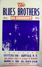"The Blues Brothers Concert Poster - 1980 In Concert w/ Cab Calloway - 14""x22"""