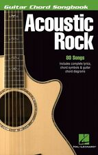 Acoustic Rock Sheet Music Guitar Chord Songbook 6 inch x 9 inch Guitar 000699540