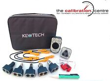 KEWTECH KEWTK1- FULL ELECTRICIANS TOOLKIT FOR MULTIFUNCTION & INSULATION TESTERS