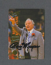 Ray Meyer signed 1993 Action Packed basketball trading card