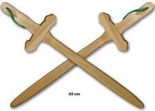 12 Espadas de Madera Juguete Tradicional Rol Niños/as Adultos Disfraz Disfraces