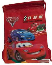 Disney Cars McQueen Grand Prix String Bag Backpack NEW