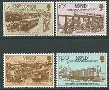 Bermuda 1987 - Transport Chemin de Fer Train - Sc 510/3 MNH