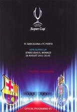 *** 2011 UEFA Super Cup Barcelone V FC Porto ***