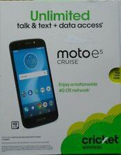 Cricket Wireless - Motorola moto e⁵ cruise - Navy