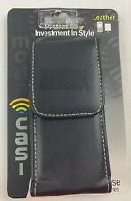 Moda Casi Genuine Leather Cell Phone Case - Designed to Fit Universal Phones