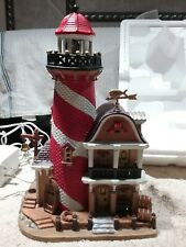 Lemax Village Swordfish Point Lighthouse 2006