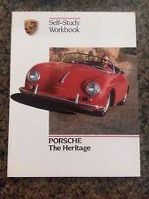 1987 Porsche The Heritage Self-Study Workbook Booklet