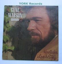 GENE WATSON - Heartaches Love & Stuff - Excellent Con LP Record Curb MCA-5520