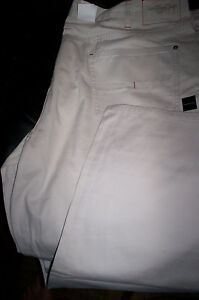 NWT CALVIN KLEIN 5 POCKET LOW RISE STRAIGHT CHINO JEANS PANTS  - TAN/BEIGE 42X32