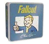Fallout Chess   Collectible Tin Bethesda   USAopoly   Collectible Fallout Themed