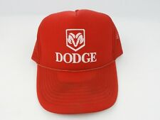 Vintage Dodge Ram Red trucker hat snapback Red / Red Mesh Nissin Cap