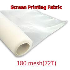 3 Yards 180M Screen Printing Mesh Silk Mesh Fabric White Color Press Material