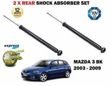 FOR MAZDA 3 1.4 1.6 2.0 2.3 MPS DI 2003-2009 NEW 2X REAR AXLE SHOCK ABSORBER SET