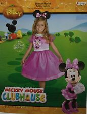 Halloween Disney Minnie Mouse Dress & Headpiece Costume Size 3T-4T NWT