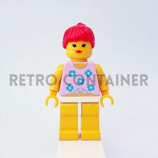 LEGO Minifigures - 1x par006 - Woman - Paradisa Town Omino Minifig Set 6410