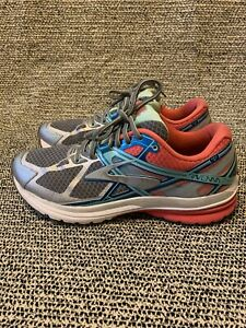 Brooks Ravenna 7 Women's Athletic Running Shoes Size 9 Pink/Teal/Grey