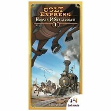 Ludonaute Colt Express Horses and Stagecoach Expansion